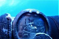今日の神子元島 #水温17.3℃ 透視度20mオーバー[1]